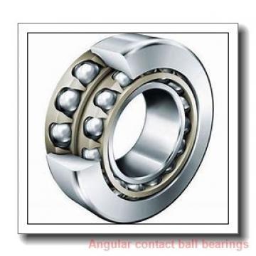 85 mm x 150 mm x 28 mm  SKF 7217 BECBY angular contact ball bearings