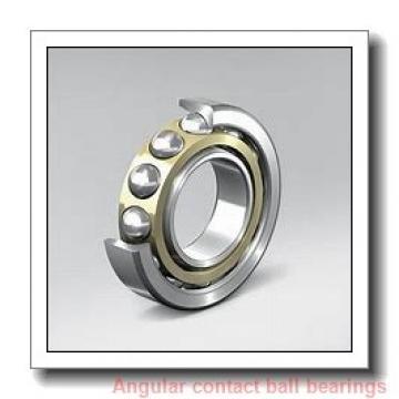 65 mm x 120 mm x 23 mm  FBJ QJ213 angular contact ball bearings