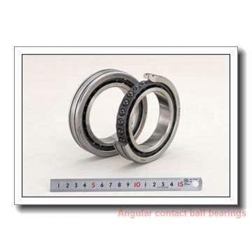 220 mm x 400 mm x 78 mm  ISB QJ 1244 angular contact ball bearings
